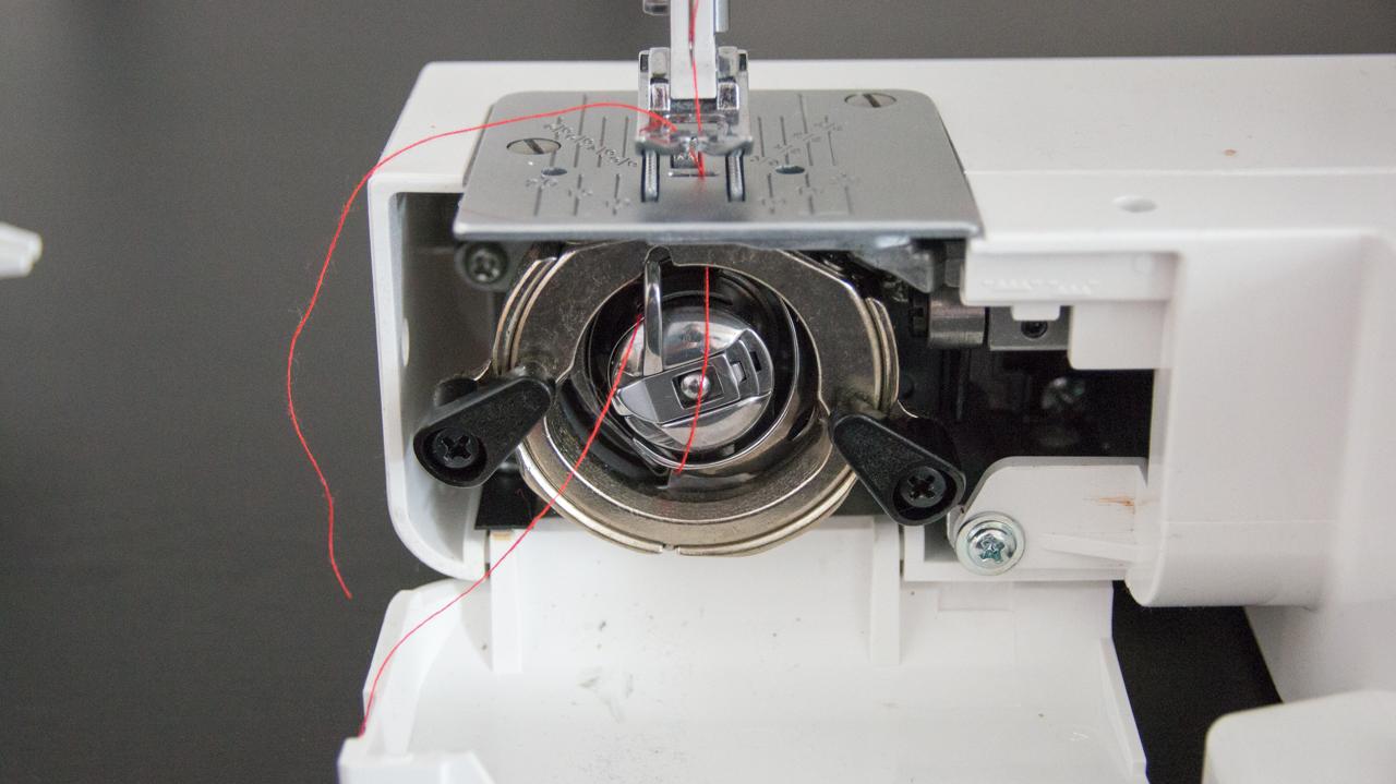 Nähmaschine W6 Spule