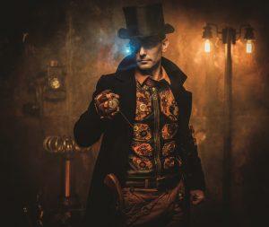 steampunk mann